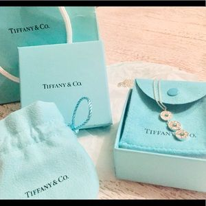 Tiffany & co. Sterling silver necklace.